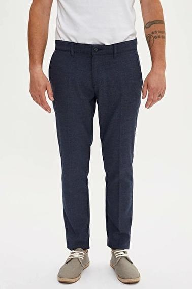 DeFacto Tailored Fit Chino Pantolon Lacivert